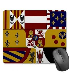 Alfombrilla Ratón Rectangular Escudo Medieval (23,5x19,5 cm)