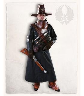 Abrigo medieval Kandor, negro