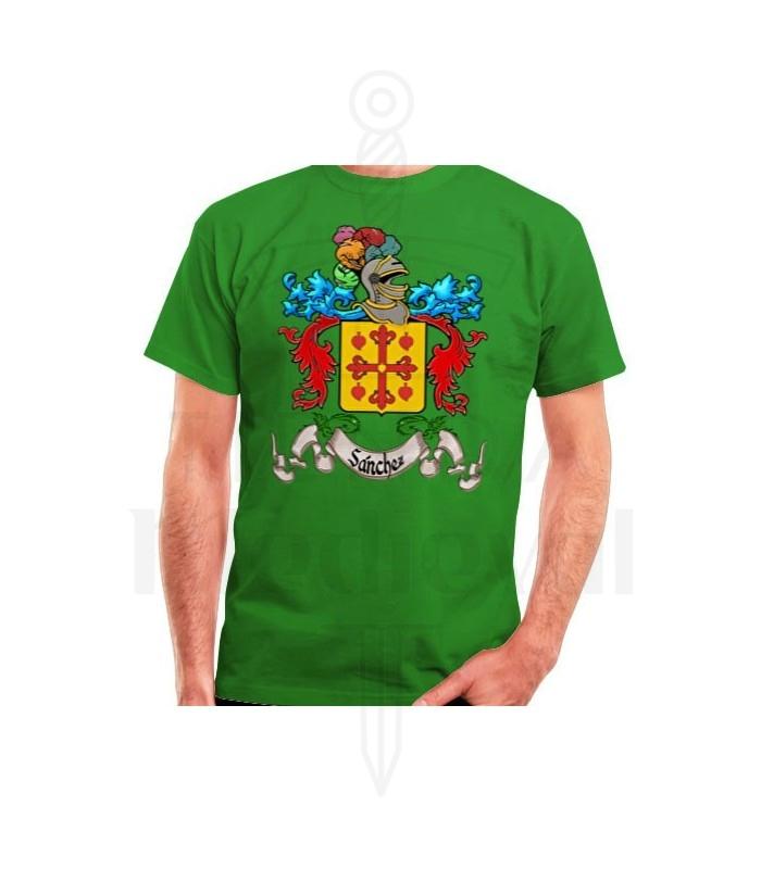 Camiseta Personalizada Escudo Heráldico 1 Apellido