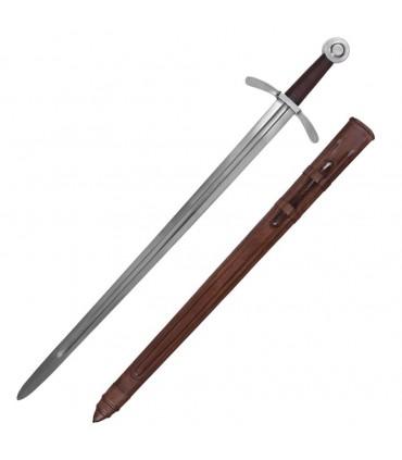 Espada de los Cruzados, con vaina