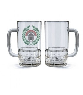 Jarra de Cerveza Cristal Centurión Romano