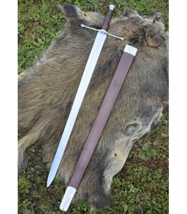Espada Bastarda con vaina, funcional
