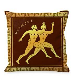 Cojín Olimpiadas Griegas, Atletismo