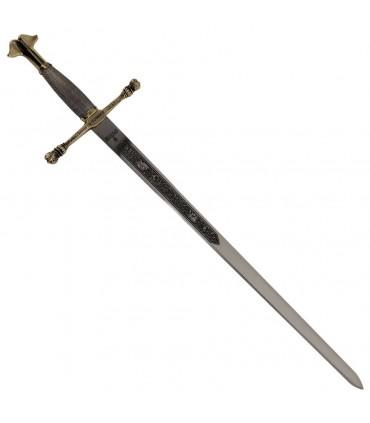Espada Carlos V dorada, cadete