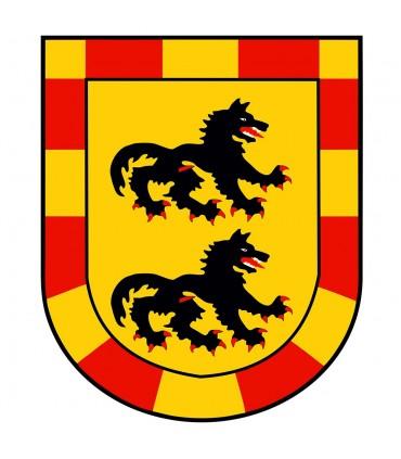 Estandarte Medieval Dragón (120x100 cms.)