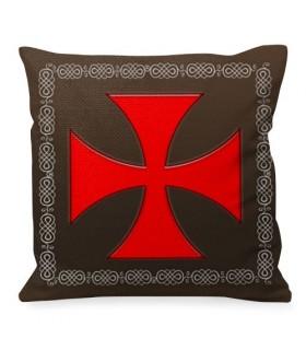 Cojín Cruz de Malta Caballeros Templarios