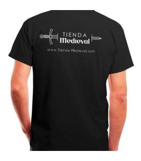 Camiseta Negra de Tienda-Medieval
