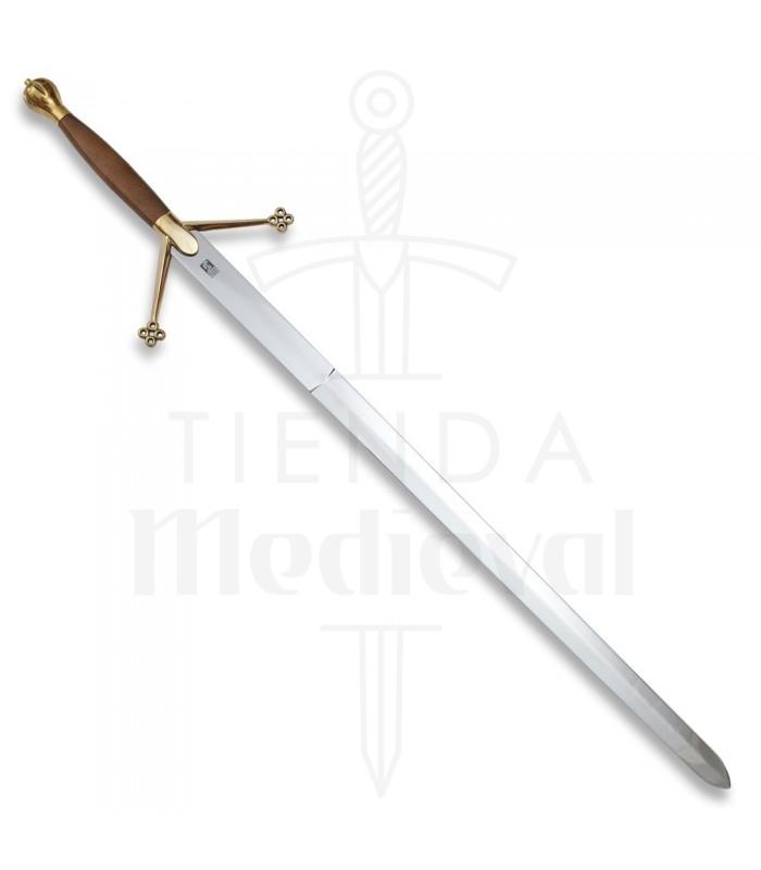 Espada Escocesa Claymore mango madera, 133 cms.