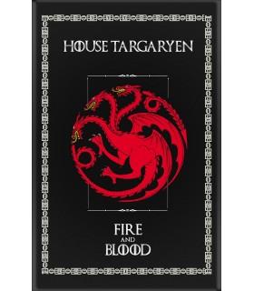 Estandarte Juego de Tronos House Targaryen (75x115 cms.)