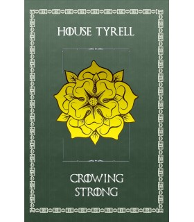 Estandarte Juego de Tronos House Tyrell (75x115 cms.)