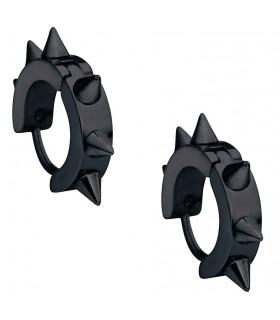 Pendientes góticos pinchos negros