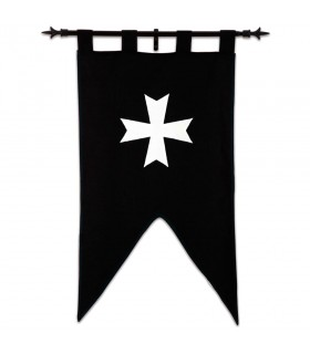 Estandarte Caballeros Hospitalarios (105 x 55 cms.)