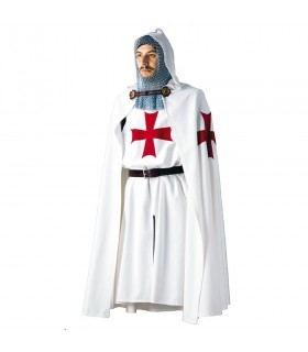 Capa Templaria con cruz bordada