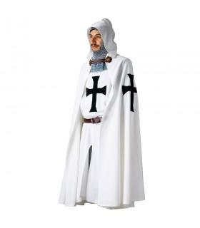 Capa Teutónica con cruz bordada
