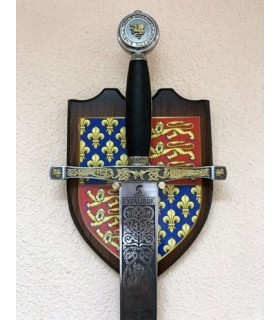 Expositor de pared espada Excálibur