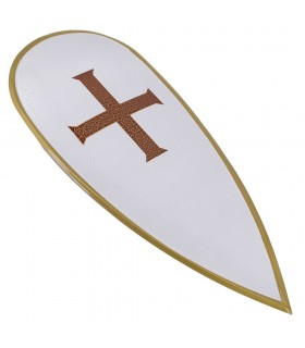 Escudo metálico Templario