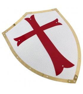 Escudo Templario bordes dorados