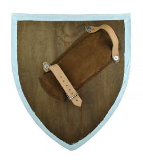 Escudo templario funcional, canteado