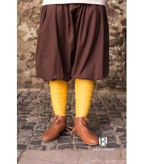Pantalones medievales Kievan, marrón