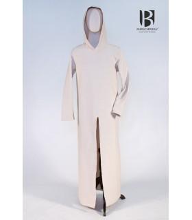 Túnica con capucha Renaud, blanco crudo