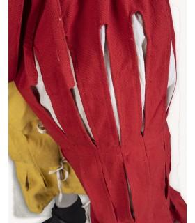 Pantalón Mercenario Lansquenete, rojo-amarillo