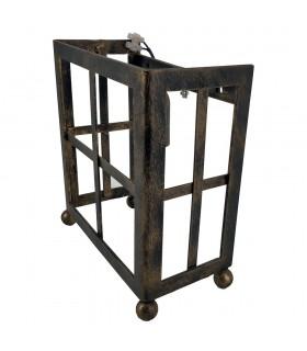 Aplique pletina caja forja