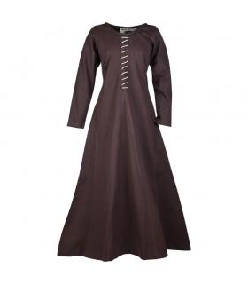 Vestido medieval largo Ava