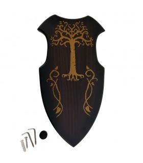 Tabla decorada para colgar espadas (22x42 cms.)