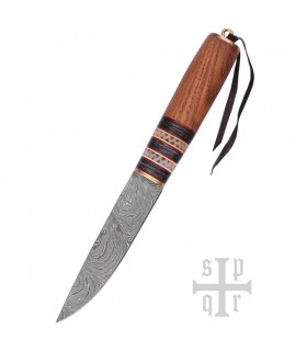 Cuchillo Vikingo Damasquino