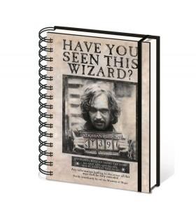Bloc de notas Sirius Black, Harry Potter