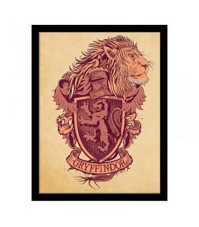 Estampado Escudo de Gryffindor, Harry Potter
