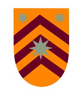Estandarte Medieval Estrellas  sobre barras