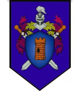 Estandarte Medieval Escudo Heráldico