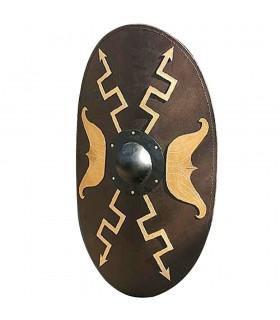 Escudo ovalado de la Caballería Romana