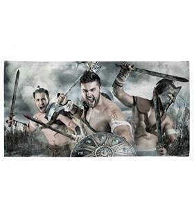 Toalla de Baño lucha de Espartanos (varios tamaños)