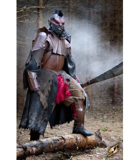 Armadura metálica completa de Orco, Deal