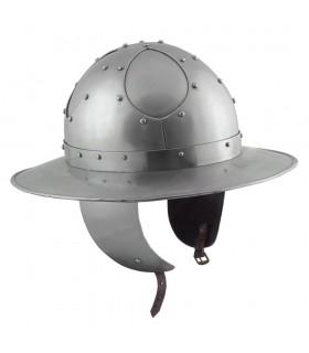 Casco Kettle Battle-Ready, acero 2 mm.