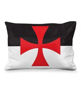 Cojín Rectangular Cruz de Malta de los Templarios