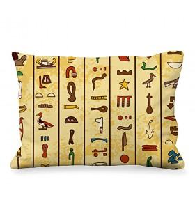 Cojín Rectangular Jeroglíficos Egipcios