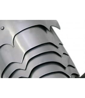 Hombreras placas metálicas, 1,6 mm.