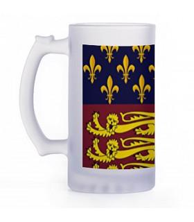 Jarra de Cerveza Medieval, cristal translucido