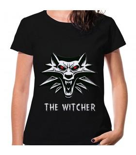 Camiseta The Witcher Mujer, manga corta