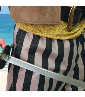 Pantalones piratas largos en aglodón
