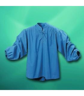 Camisa Corsario con cuello alto