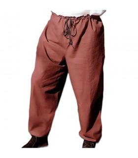 Pantalones medievales con cordón