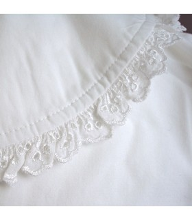Camisa blanca de Mosquetero