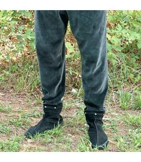 Pantalón medieval de terciopelo elástico