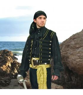 Chaleco de Pirata en terciopelo