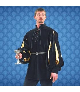 Camisa Renacentista Cavalier, terciopelo