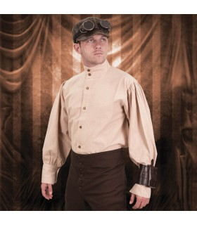 Camisa Ingeniero SteamPunk, algodón